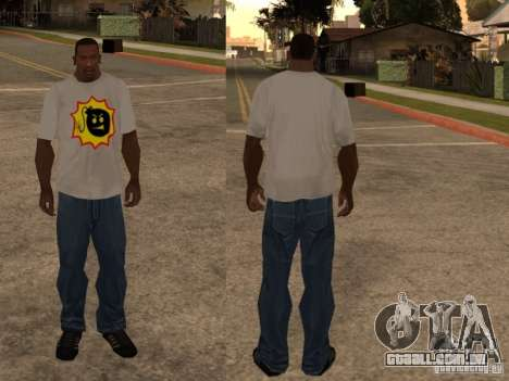 Nova t-shirt para GTA San Andreas