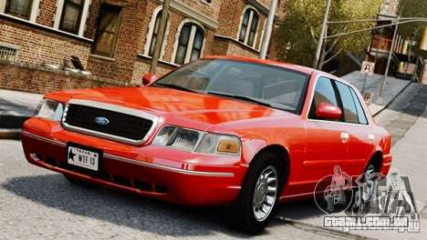 Ford Crown Victoria Civil 2006 para GTA 4
