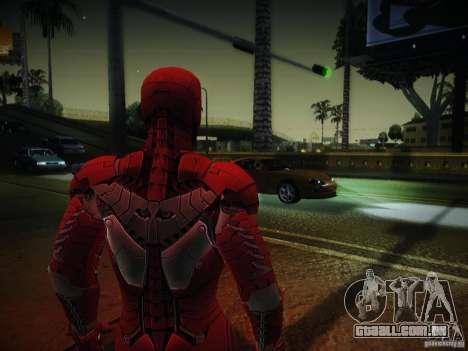 Iron Man 3 Mark V para GTA San Andreas segunda tela