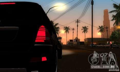 Mercedes-Benz GL 500 para GTA San Andreas vista traseira