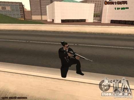 Gray weapons pack para GTA San Andreas sexta tela