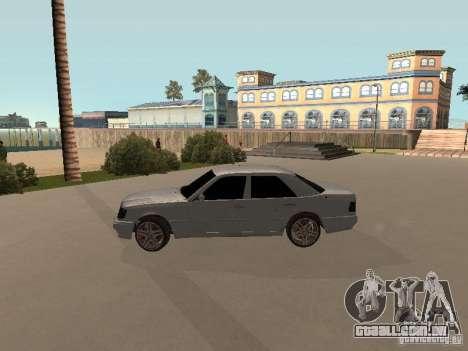 Mercedes-Benz E420 AMG para GTA San Andreas vista traseira
