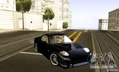 Mazda RX-7 C-West para GTA San Andreas vista direita