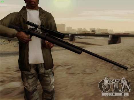 Remington 700 para GTA San Andreas segunda tela