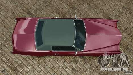 Cadillac Eldorado 1968 para GTA 4 vista direita