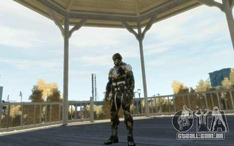 Crysis 3 The Hunter skin para GTA 4 por diante tela