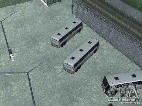 Ônibus Parque versão v 1.2 para GTA San Andreas quinto tela