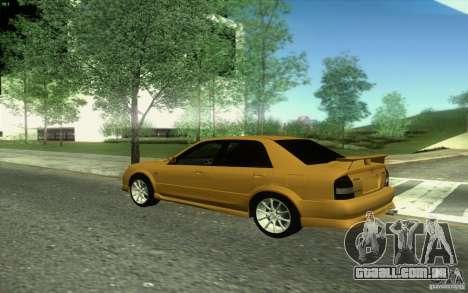 Mazda Speed Familia 2001 V1.0 para GTA San Andreas vista interior