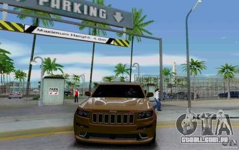 Estacionamento (pago) para GTA San Andreas por diante tela