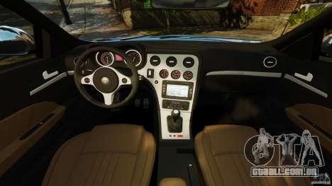 Alfa Romeo 159 TI V6 JTS para GTA 4 vista de volta