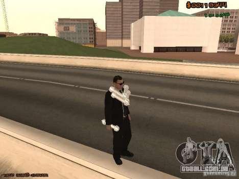 Gray weapons pack para GTA San Andreas oitavo tela