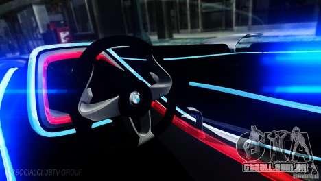 BMW Vision ConnectedDrive Concept 2011 para GTA 4 esquerda vista