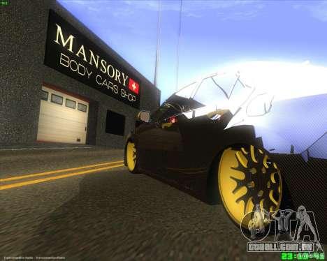 Honda Accord Mansory para GTA San Andreas vista direita