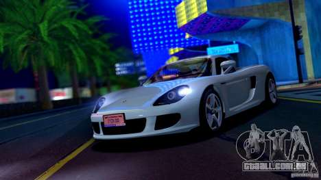 SA Beautiful Realistic Graphics 1.6 para GTA San Andreas por diante tela