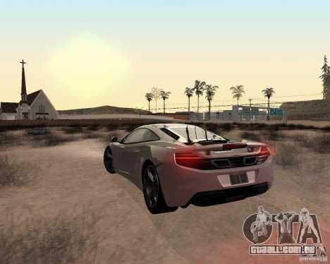 Star ENBSeries by Nikoo Bel para GTA San Andreas nono tela