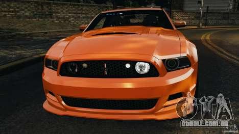 Ford Mustang 2013 Police Edition [ELS] para GTA 4 interior