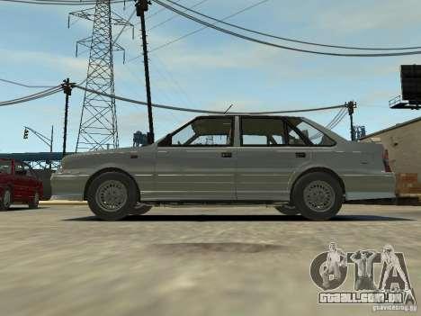 FSO Polonez Atu para GTA 4 vista de volta