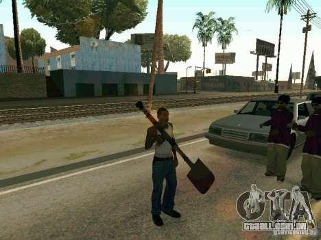 Lopatomët para GTA San Andreas sétima tela