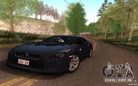 SA Illusion-S V3.0 para GTA San Andreas por diante tela