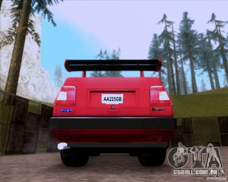 Fiat Tempra 1998 Tuning para GTA San Andreas vista traseira