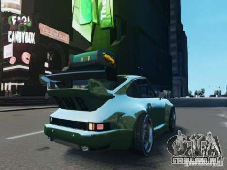 Porsche 911 Turbo RWB Pandora One Beta para GTA 4 vista de volta