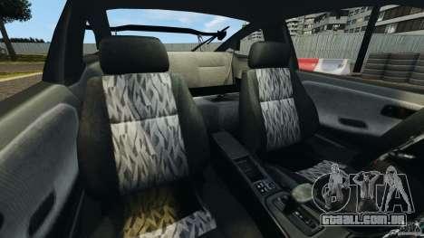 Nissan 240SX Kawabata Drift para GTA 4 vista interior