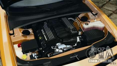 Dodge Challenger SRT8 392 2012 [EPM] para GTA 4 vista superior