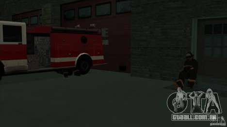 Estação de fogo de avivamento em San Fierro v 2. para GTA San Andreas sexta tela