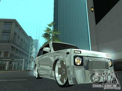 VAZ 2121 Final para GTA San Andreas traseira esquerda vista