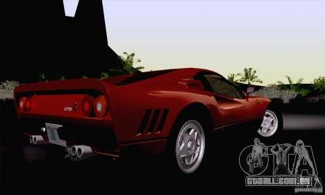 Ferrari 288 GTO 1984 para GTA San Andreas esquerda vista