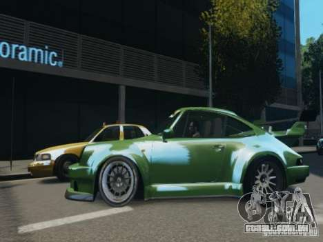 Porsche 911 Turbo RWB Pandora One Beta para GTA 4 esquerda vista