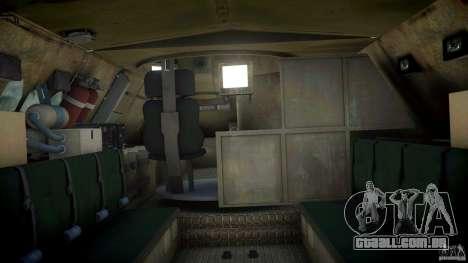 Coyote Reconaissance Vehicle para GTA 4 esquerda vista