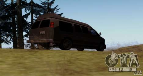 GMC Savana AWD para GTA San Andreas vista direita