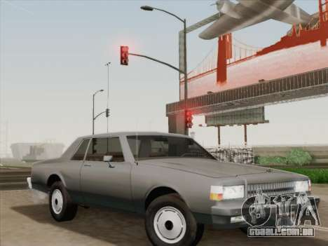 Chevrolet Caprice 1986 para as rodas de GTA San Andreas