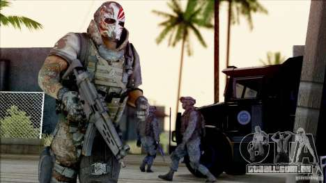 Army Of Two - Devils Cartel para GTA San Andreas segunda tela