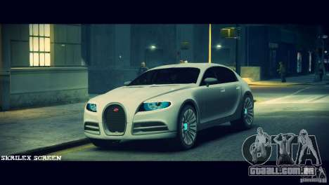 Bugatti Galibier 16C (Bug fix) para GTA 4