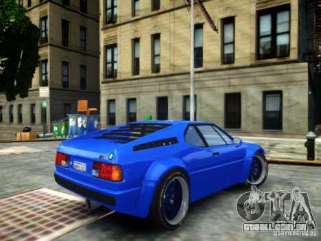 BMW M1 Replica para GTA 4 esquerda vista