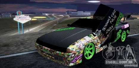 New Elegy DriftingStyleTeam para GTA San Andreas