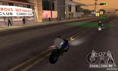 No wanted v1 para GTA San Andreas terceira tela