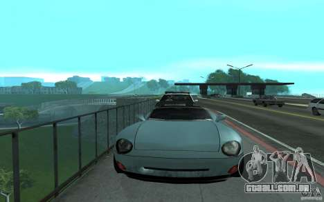 Polícia na ponte, San Fierro para GTA San Andreas terceira tela