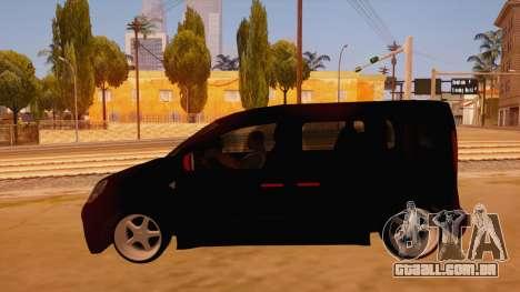 Renault Kangoo para GTA San Andreas esquerda vista
