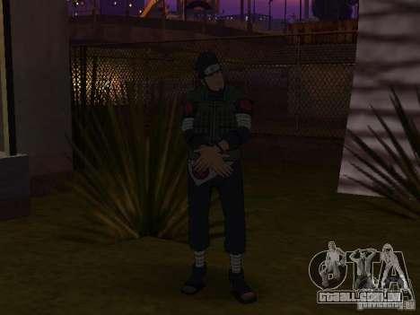 Skin Pack From Naruto para GTA San Andreas terceira tela