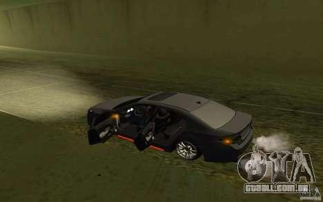 Honda Accord para GTA San Andreas vista superior