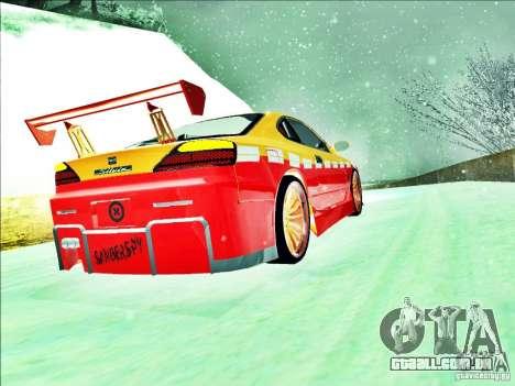 Nissan Silvia S15 Calibri-Ace para GTA San Andreas vista interior