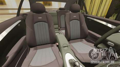 Mercedes-Benz CLK 55 AMG para GTA 4 vista lateral