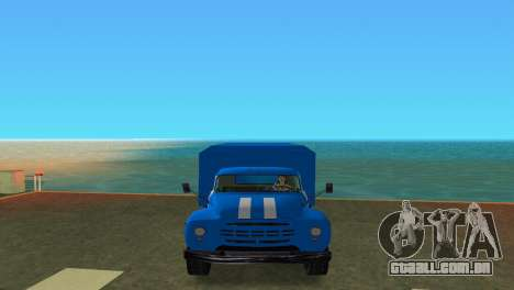 ZIL 130 para GTA Vice City vista direita