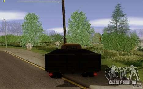 GAZ 51 para GTA San Andreas traseira esquerda vista