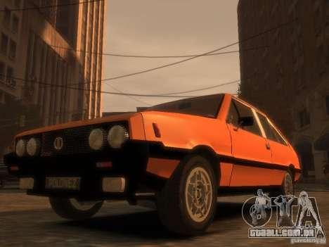 FSO Polonez 2.0X Coupe para GTA 4 vista direita