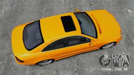 Mercedes-Benz CLK 55 AMG para GTA 4 vista direita