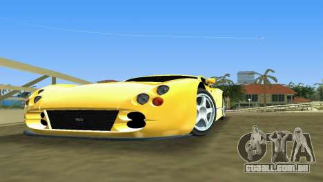 TVR Cerbera Speed 12 para GTA Vice City